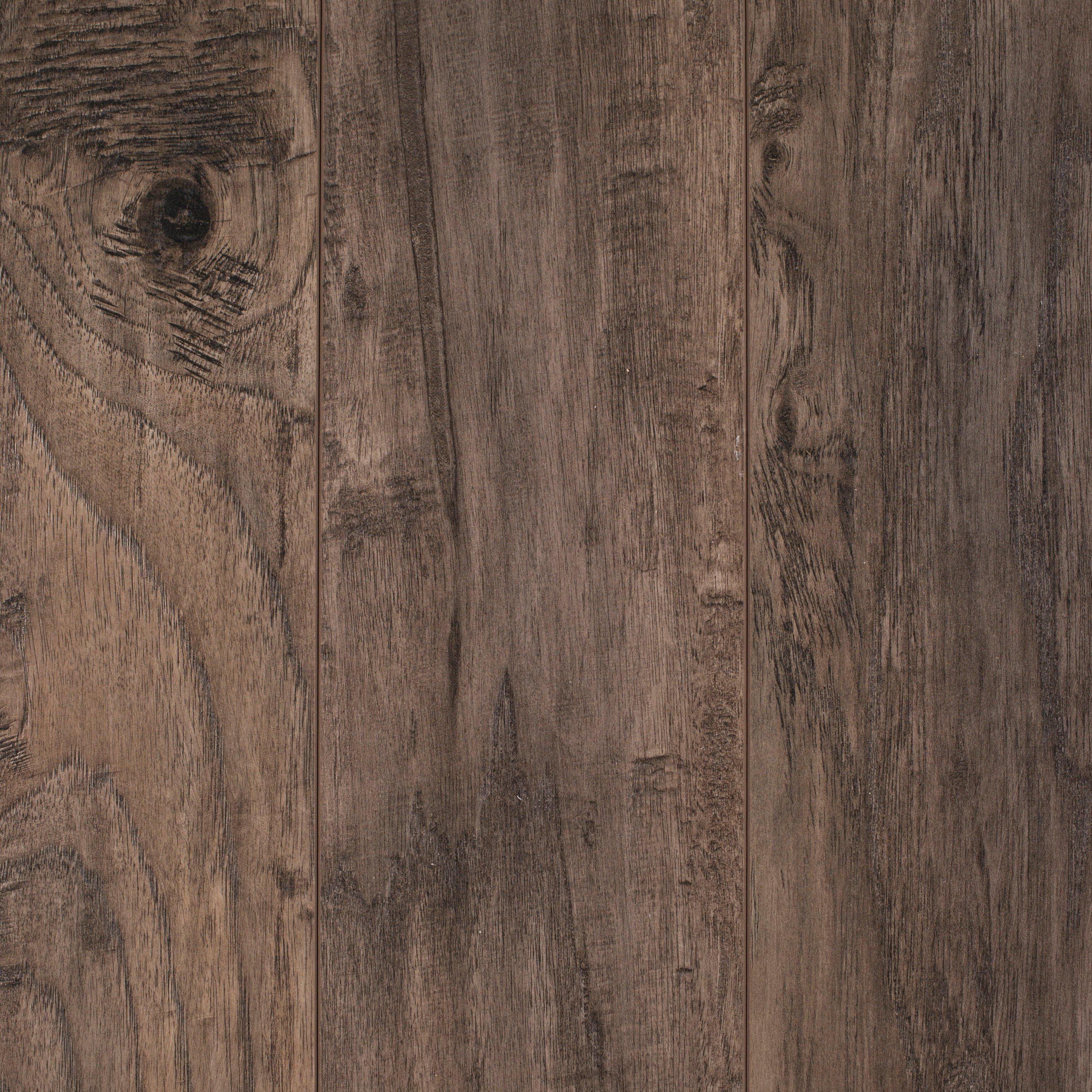 Handscraped Laminate Flooring homestead plank roasted grain laminate l6563 Cappuccino Hickory Hand Scraped Laminate 12mm 100103415 Floor And Decor
