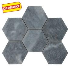 Clearance! Terre Luna Hexagon Marble Mosaic