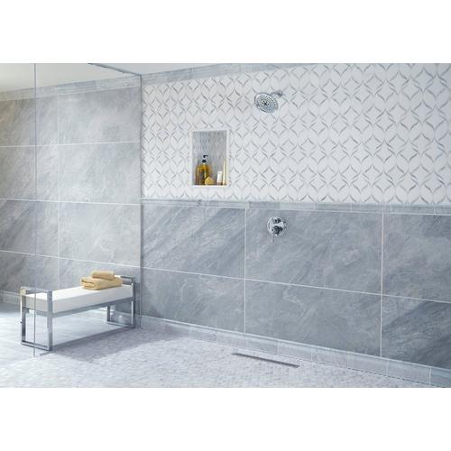Bianco Carrara Marble Base Molding 5 X 12 100156496 Floor And