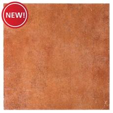 New! Mediterranean Red Porcelain Tile