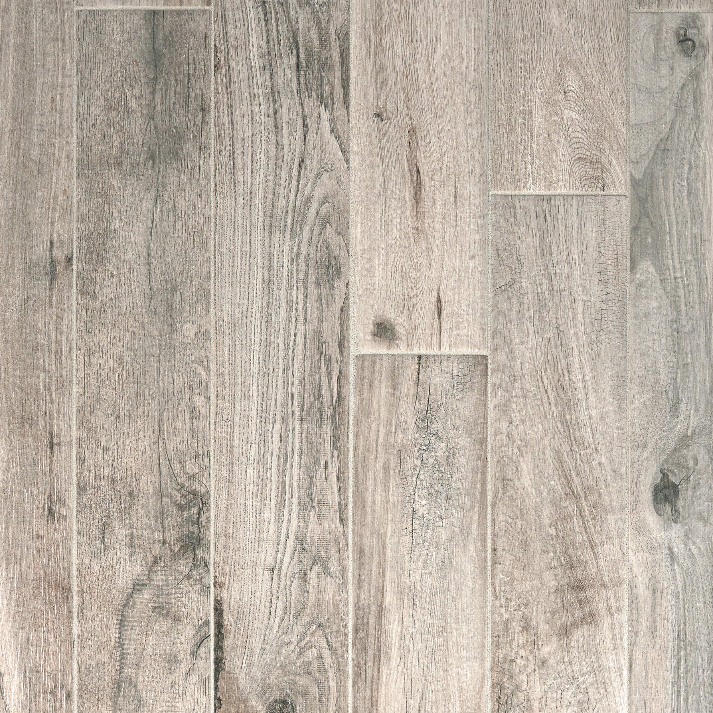 Soft Greige Wood Plank Porcelain Tile 6 X 40 100105915 Floor