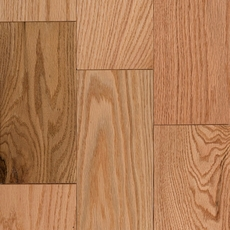 Natural Oak Tongue and Groove Solid Hardwood