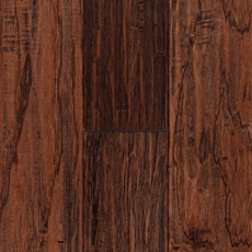 Saddle Hickory Hand Scraped Tongue and Groove Engineered Hardwood