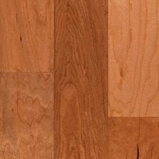 Cherry Hand Scraped Tongue and Groove Engineered Hardwood