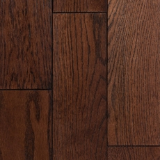 Aurora Oak Wire Brushed Solid Hardwood