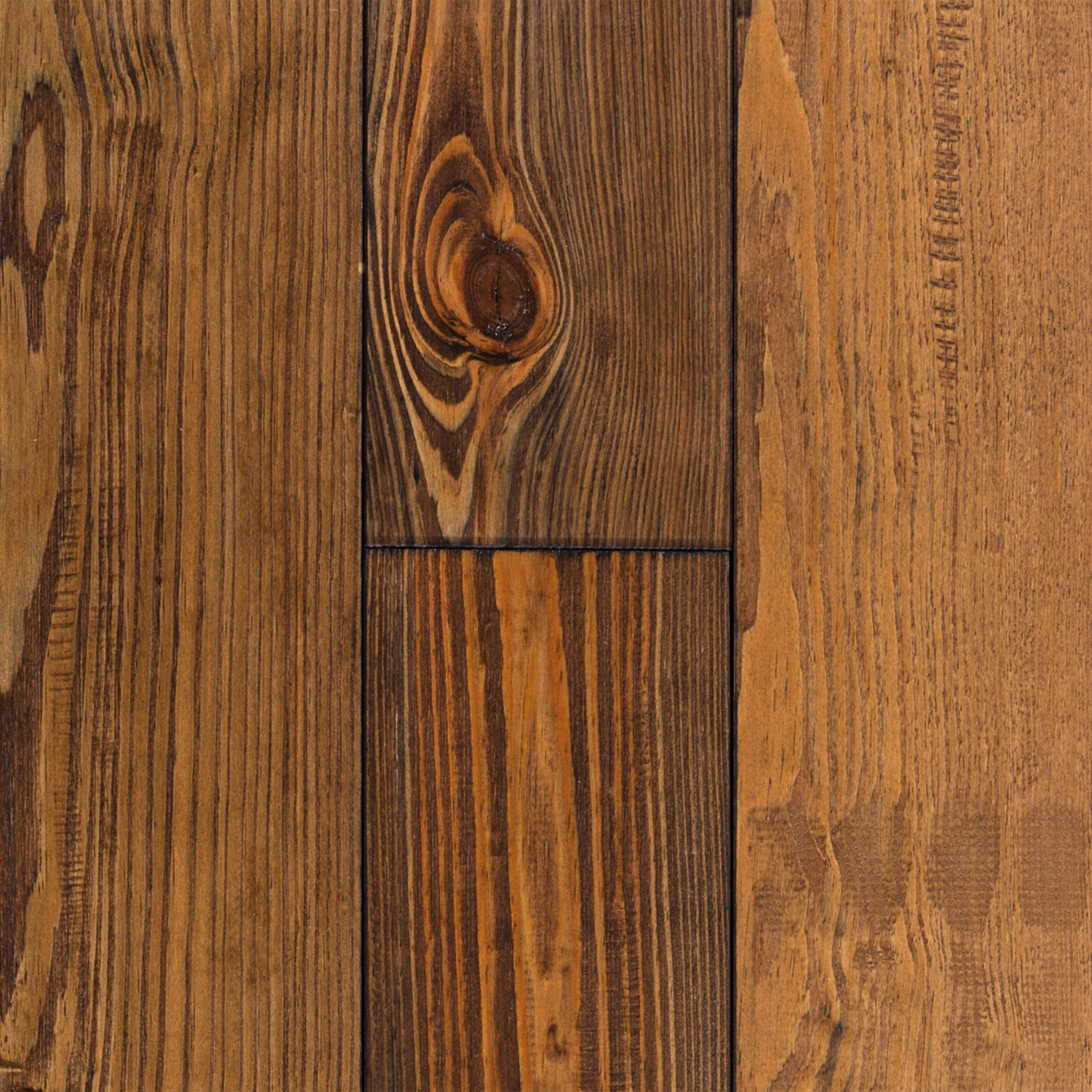 Chestnut Pine Hand Scraped Solid   3/4in. X 5 1/8in.   100109305 | Floor  And Decor
