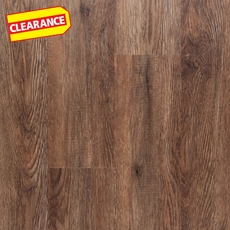 Clearance! NuCore Espresso Walnut Plank with Cork Back