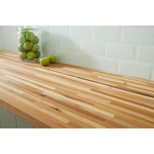 American Hickory Butcher Block Countertop 12ft 144in X 25in 100110121 Floor And Decor
