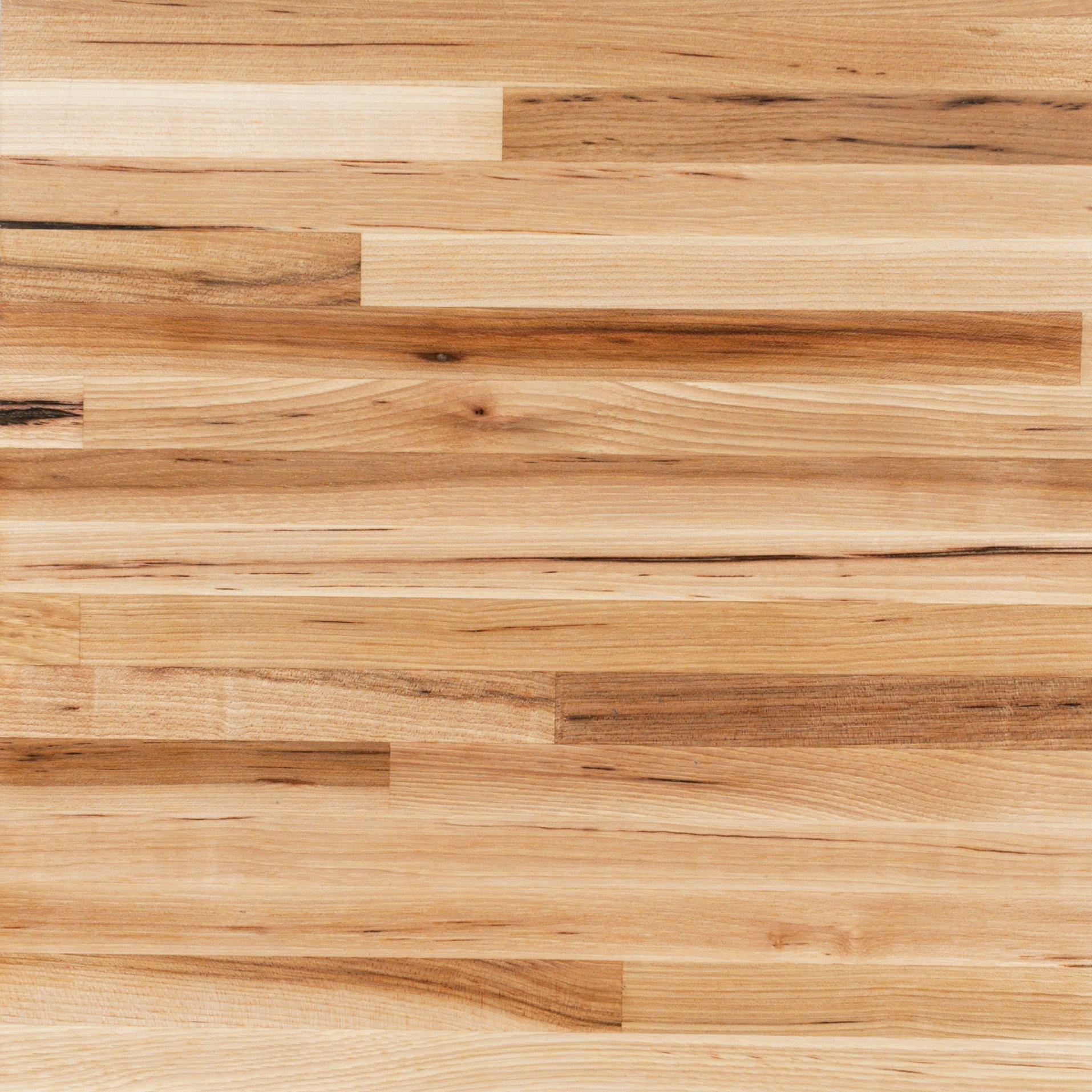 American Hickory Butcher Block Countertop 12ft.   144in. X 25in.    100110121 | Floor And Decor