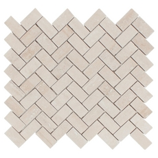 Herringbone Travertine Mosaic
