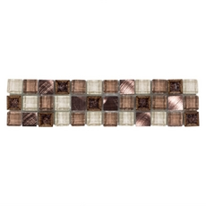Copper Crackle Mix Glass Border