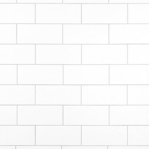 Bright White Ice Ceramic Wall Tile X Floor And Decor - 6x8 white wall tile