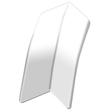 Schluter DILEX-AS Bright White 11/32in. PVC Inside Corner
