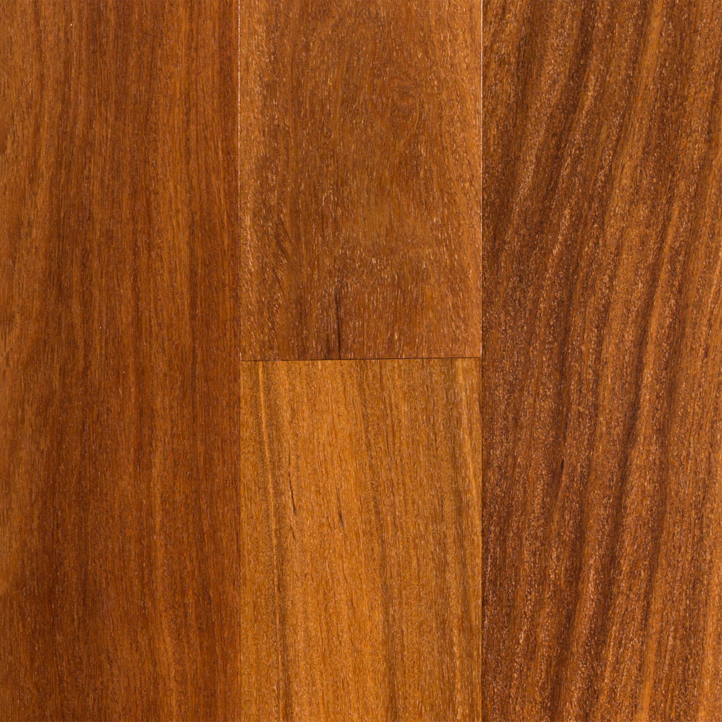 Brazilian Teak Smooth Engineered Hardwood 12in x 5in