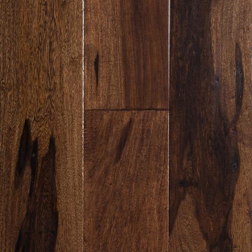 Brazilian Pecan Coco Handscraped Engineered Hardwood 1 2in X 5in