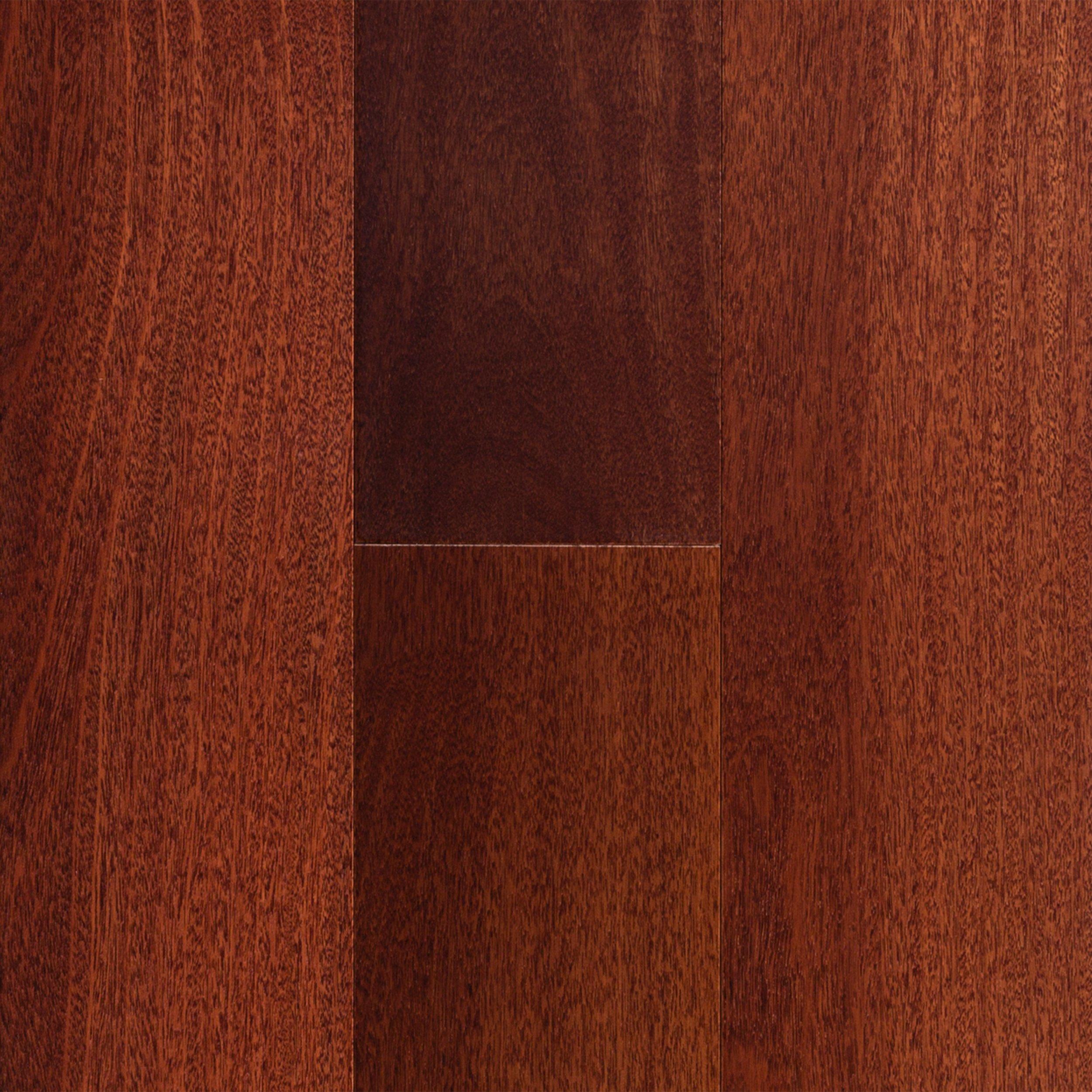 Santos Brazilian Mahogany Smooth Engineered Hardwood   1/2in. X 5in.    100119445   Floor And Decor