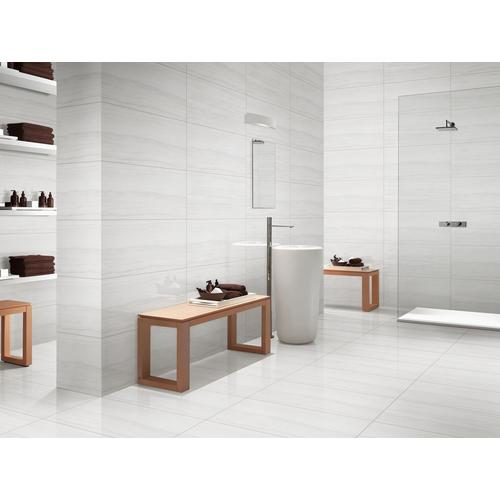 Impress White Polished Porcelain Tile 12 X 24 100119916 Floor