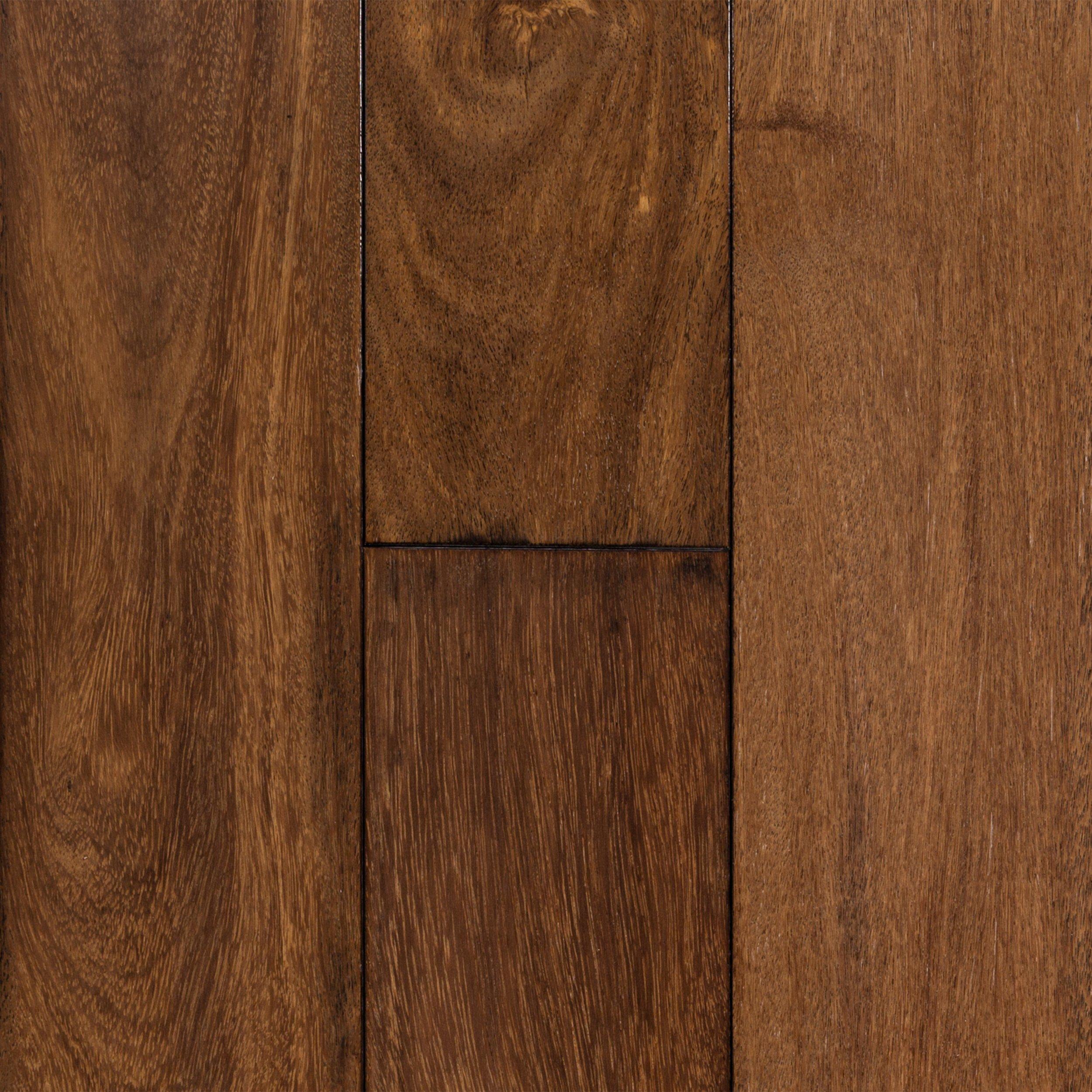 brazilian chestnut hand scraped solid hardwood 34in x 5 12in floor and decor - Hand Scraped Hardwood