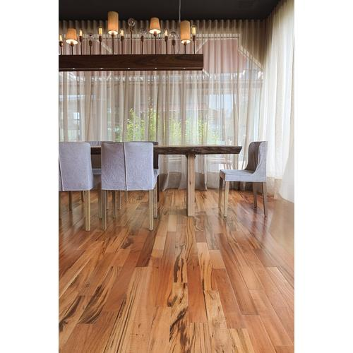 Natural Brazilian Tigerwood Smooth Solid Hardwood 34in X 5 12in