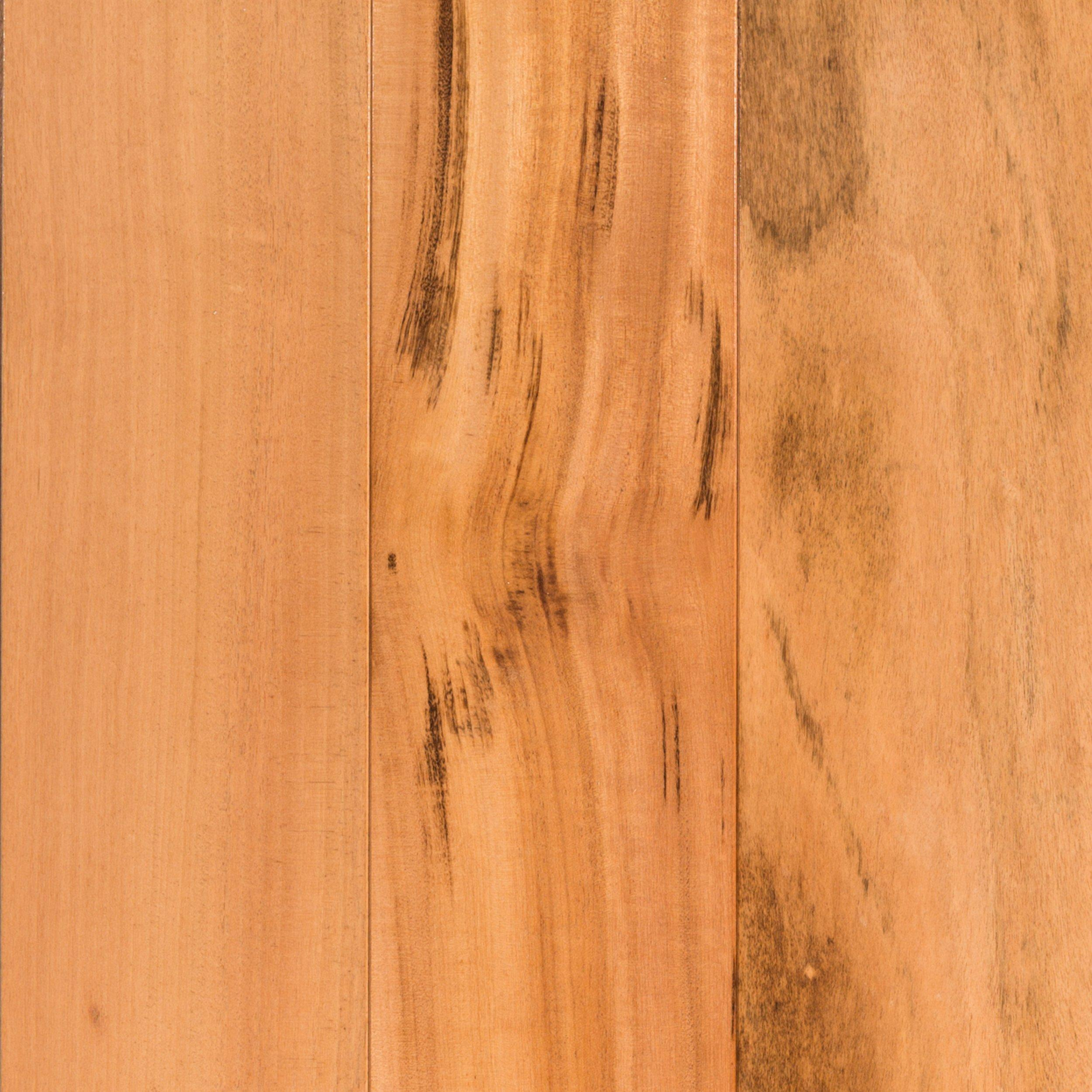 natural brazilian tigerwood smooth solid hardwood 34in x 5 12in floor and decor
