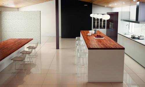 brazilian tigerwood butcher block countertop 12ft. - 144in. x 25in