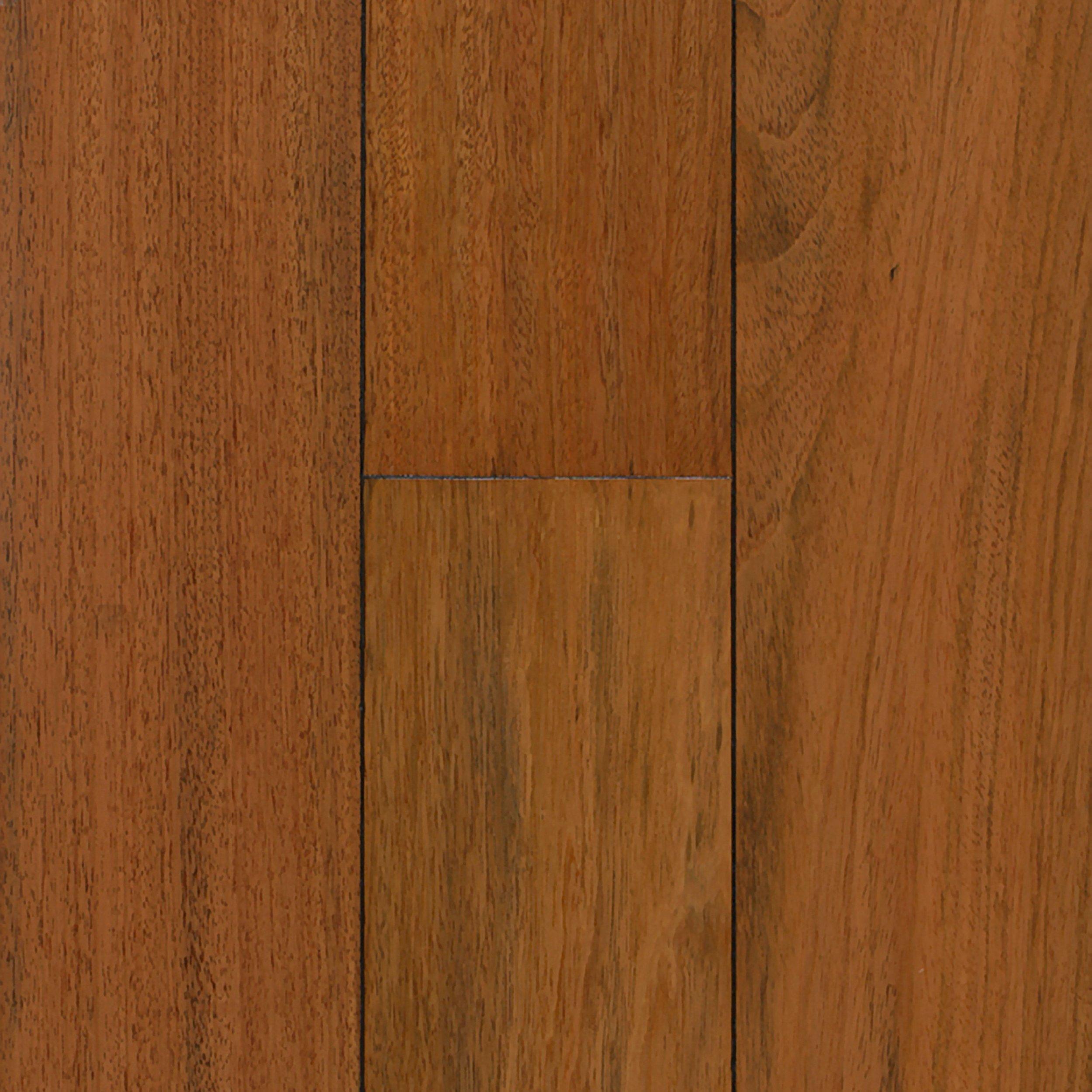 image brazilian cherry handscraped hardwood flooring. Delighful Image Natural Brazilian Cherry Hand Scraped Solid Hardwood Sample  5 12in X  4in 100126135  Floor And Decor Intended Image Handscraped Flooring D