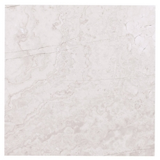 Valentino White Crosscut Marble Tile