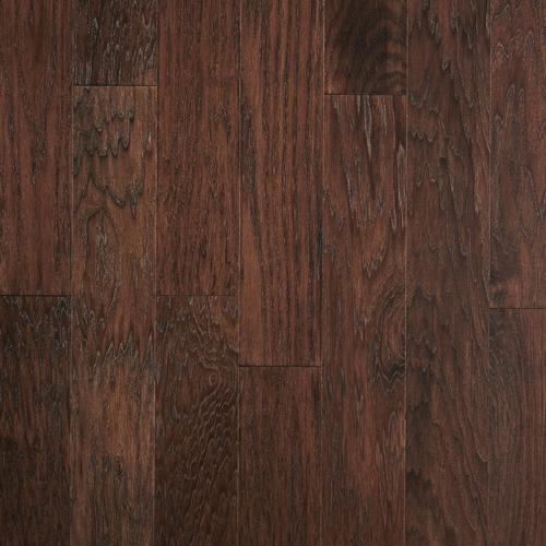 Coffee Hickory Smooth Locking Engineered Hardwood 38in X 5in