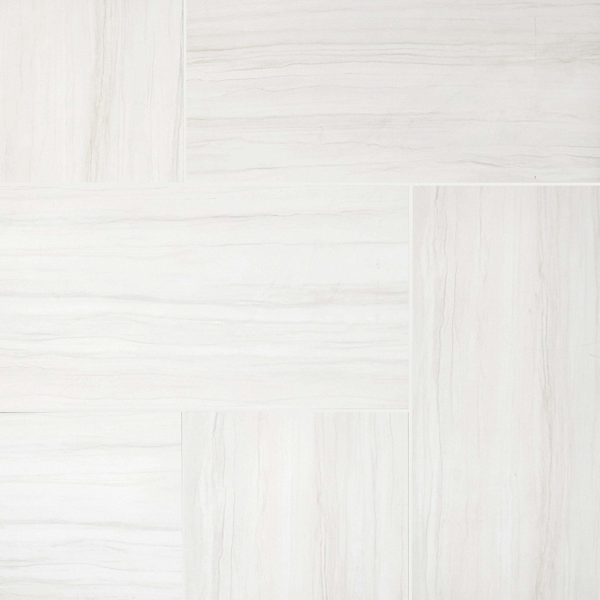 Impress White Matte Porcelain Tile   12 X 24   100128966 | Floor And Decor