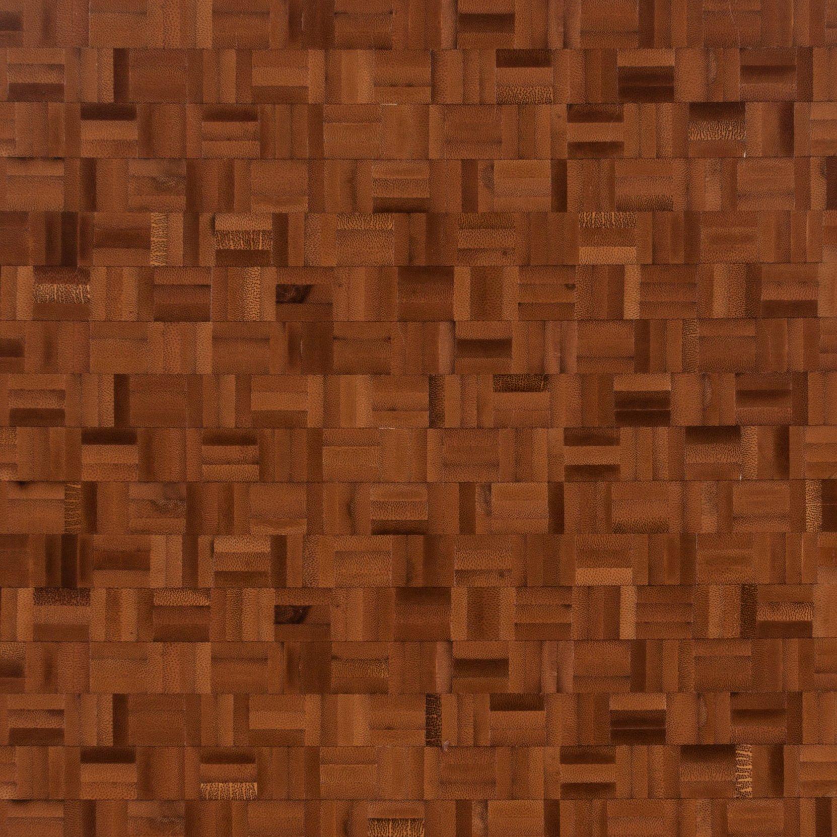 Bamboo Mosaic Butcher Block Countertop 12ft.   144in. X 25in.   100129121 |  Floor And Decor