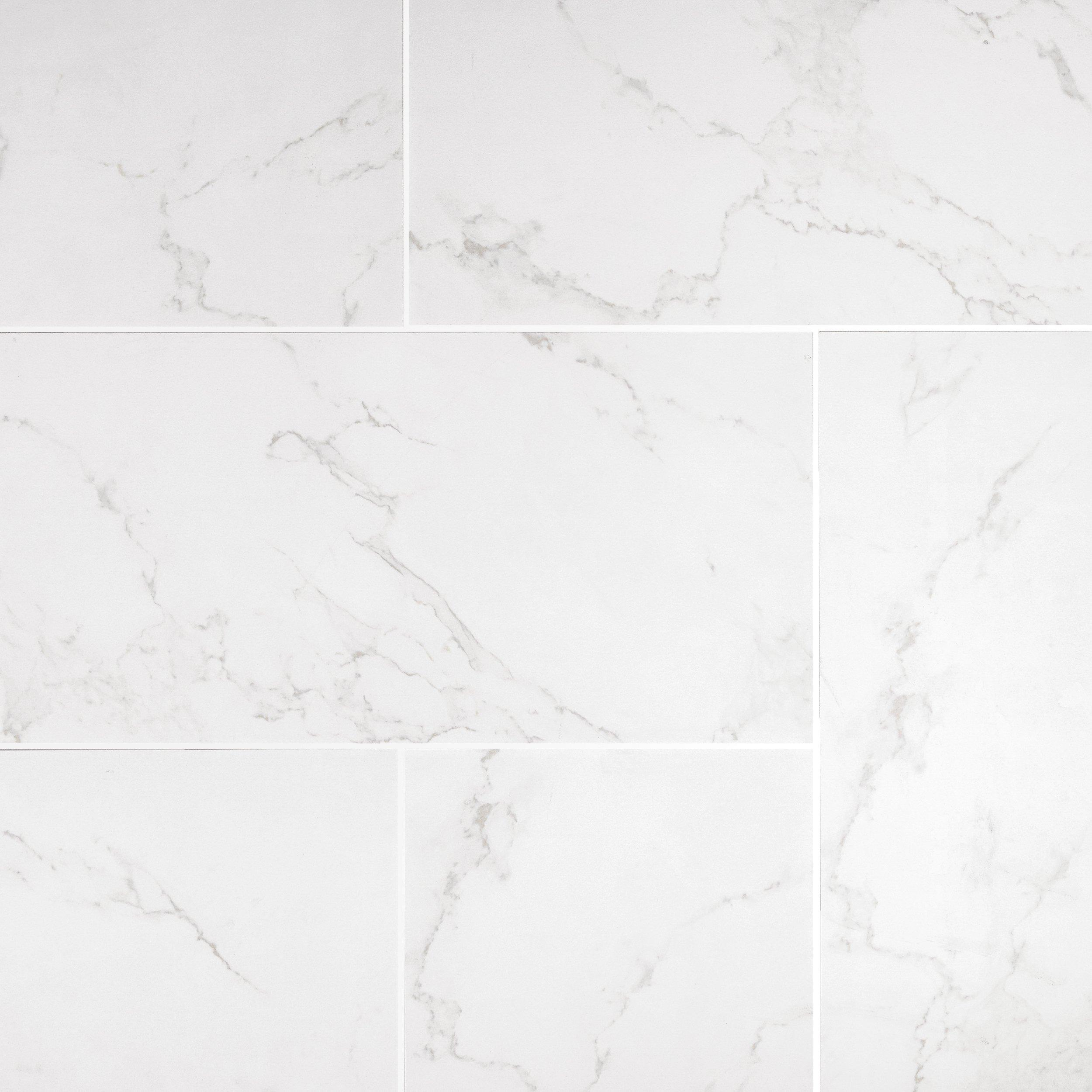 carrara matte gray porcelain tile 12in x 24in floor and decor