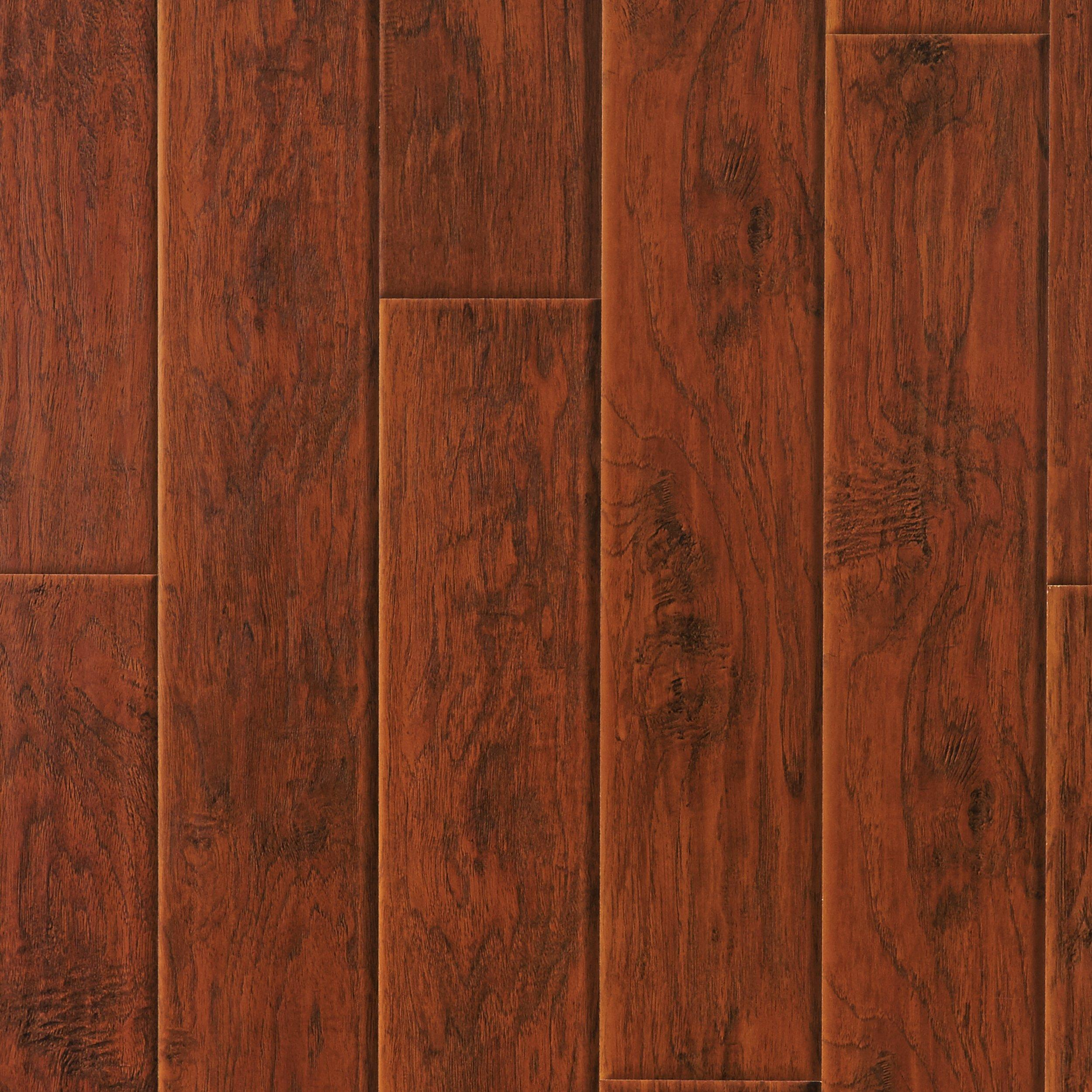 Hampstead Ashland Hickory Hand Scraped Laminate   12mm   100130244 | Floor  And Decor