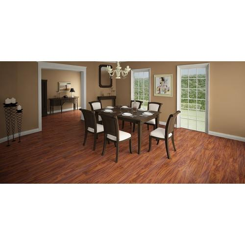Brazilian Cherry High Gloss Laminate 12mm 100130269 Floor And