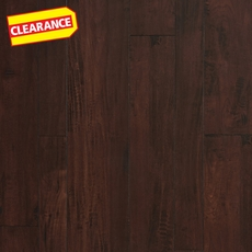 Clearance! Hampstead Midnight Moon Hand Scraped Random-Width Laminate