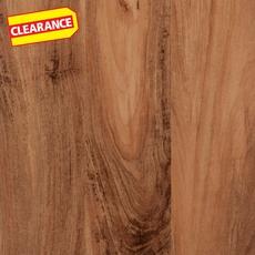 Clearance! Casa Moderna Mount Chestnut High-Gloss Luxury Vinyl Plank
