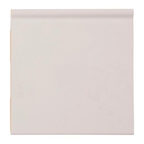 Bright White Ice Ceramic Cove Base - 6 x 6 - 100131408