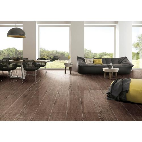 Maduro Dark Wood Plank Ceramic Tile 8 X 40 100132778 Floor And