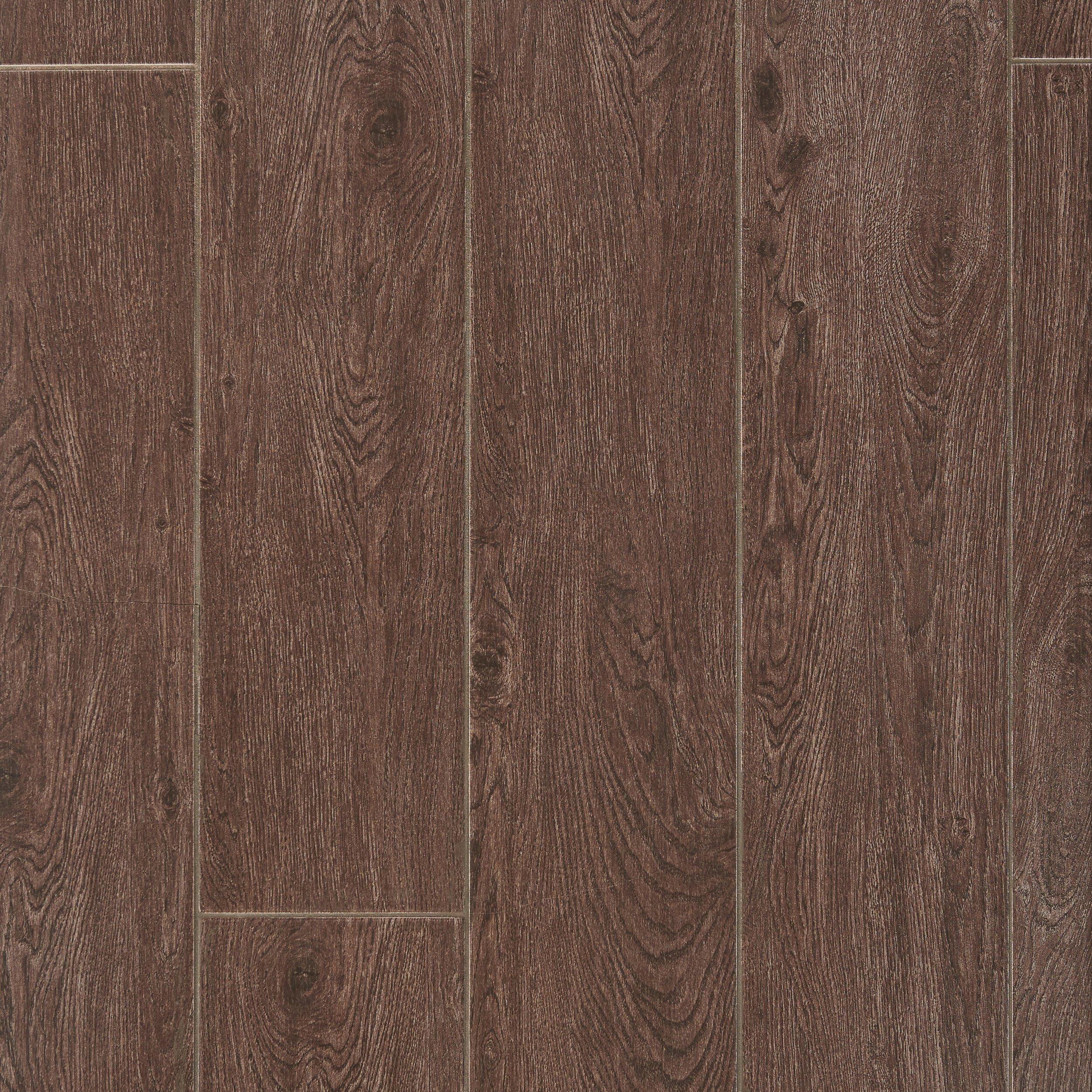 Maduro Dark Wood Plank Ceramic Tile 8 x 40 100132778 Floor