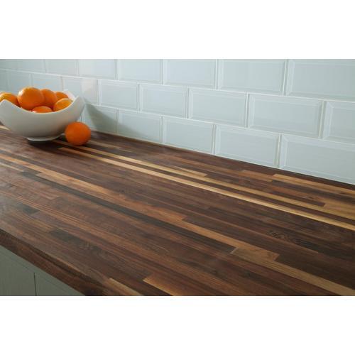 Black Walnut Builder Grade Butcher Block Countertop 8ft 96in X 25in 100136076 Floor And Decor
