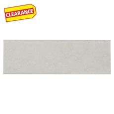 Clearance! Positano Blanco Ceramic Wall Bullnose
