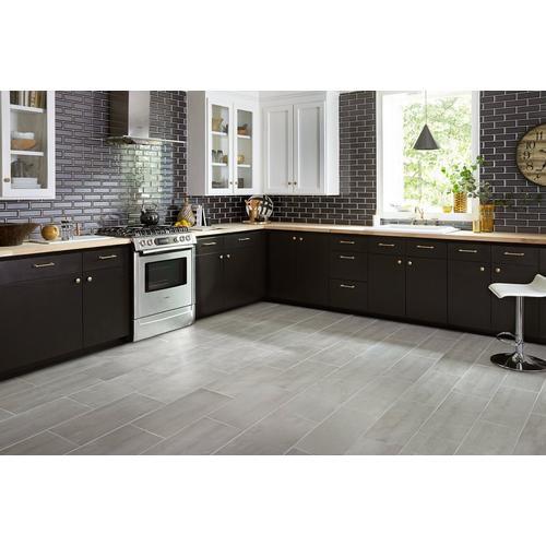 Concrete Gray Ceramic Tile 12 X 24 100136795 Floor And Decor