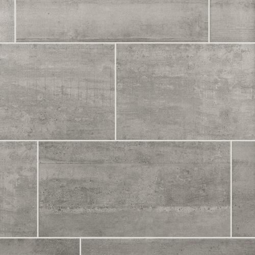 Concrete Gray Ceramic Tile X Floor And Decor - 12x18 floor tile