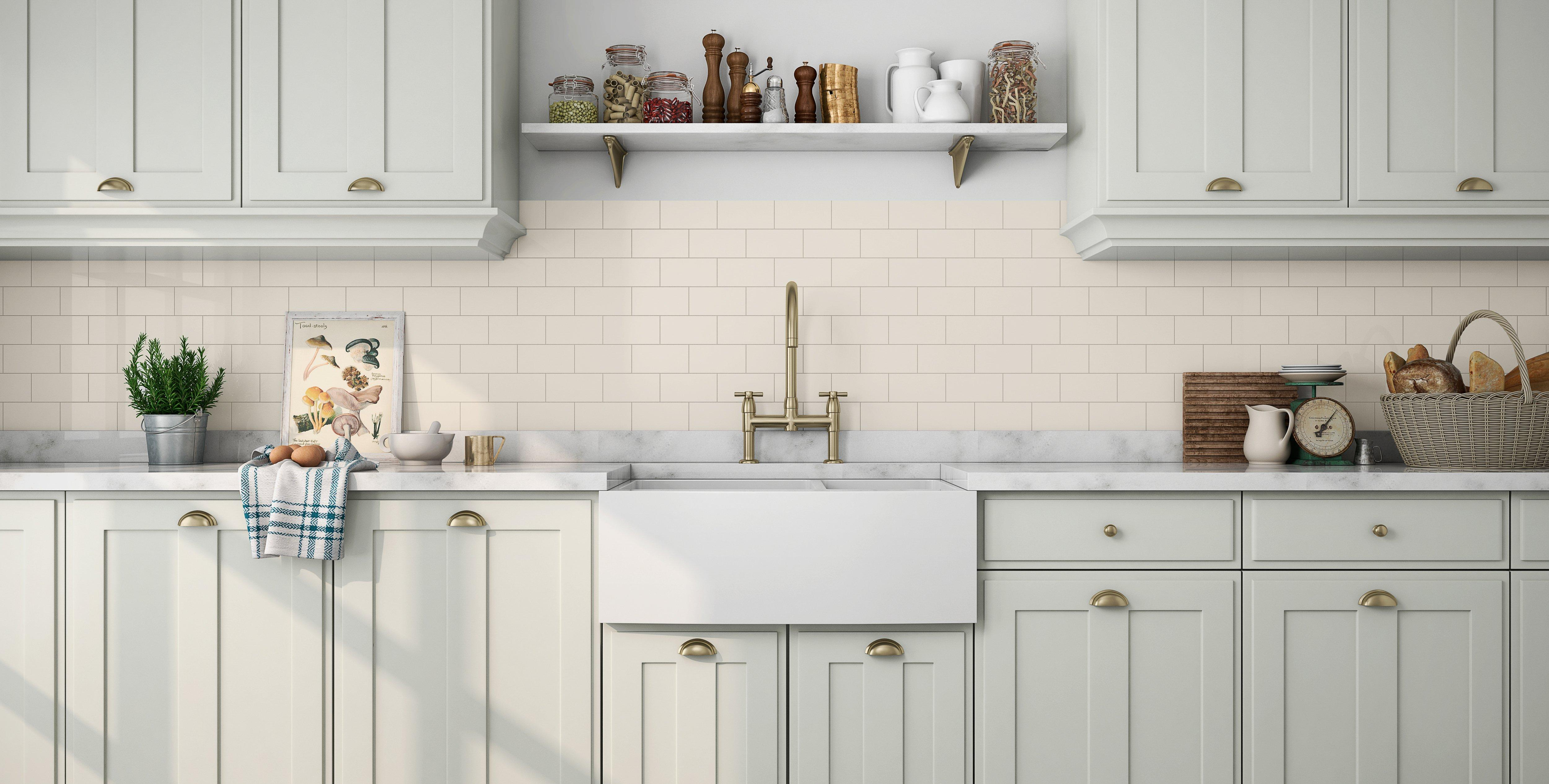 Ceramic Wall Tiles Kitchen 10x15 Kitchen Wall Tiles at Rs 90 box ...