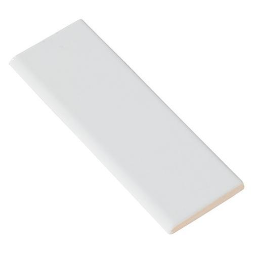 Bright White Ice Ceramic Bullnose 2 X 6 100138056 Floor And Decor