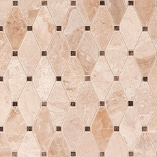 Impero Reale Clipped Diamond Marble Mosaic