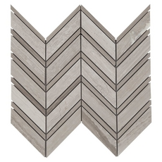 Valentino Mix Chevron Marble Mosaic