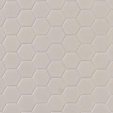 Metro Biscuit Matte Hexagon Porcelain Mosaic