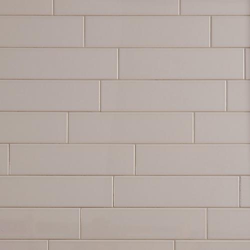 Metro Gray Glossy Ceramic Tile 4 X 16 100139286 Floor And Decor