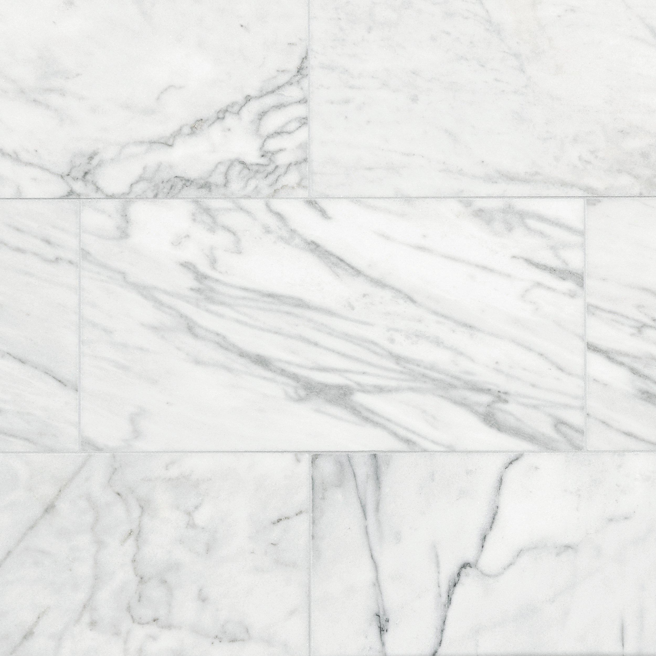 Ocean White Marble Tile 12 x 24 100139351 Floor and Decor