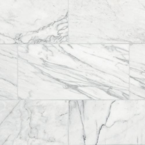 . Ocean White Marble Tile   12in  x 24in    100139351   Floor and Decor